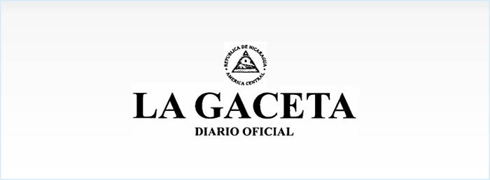 La Gaceta, Diario Oficial