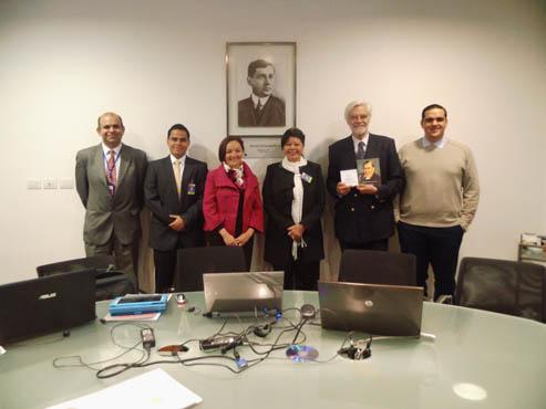 Intercambio de Experiencias con la Biblioteca del Congreso Nacional de Chile