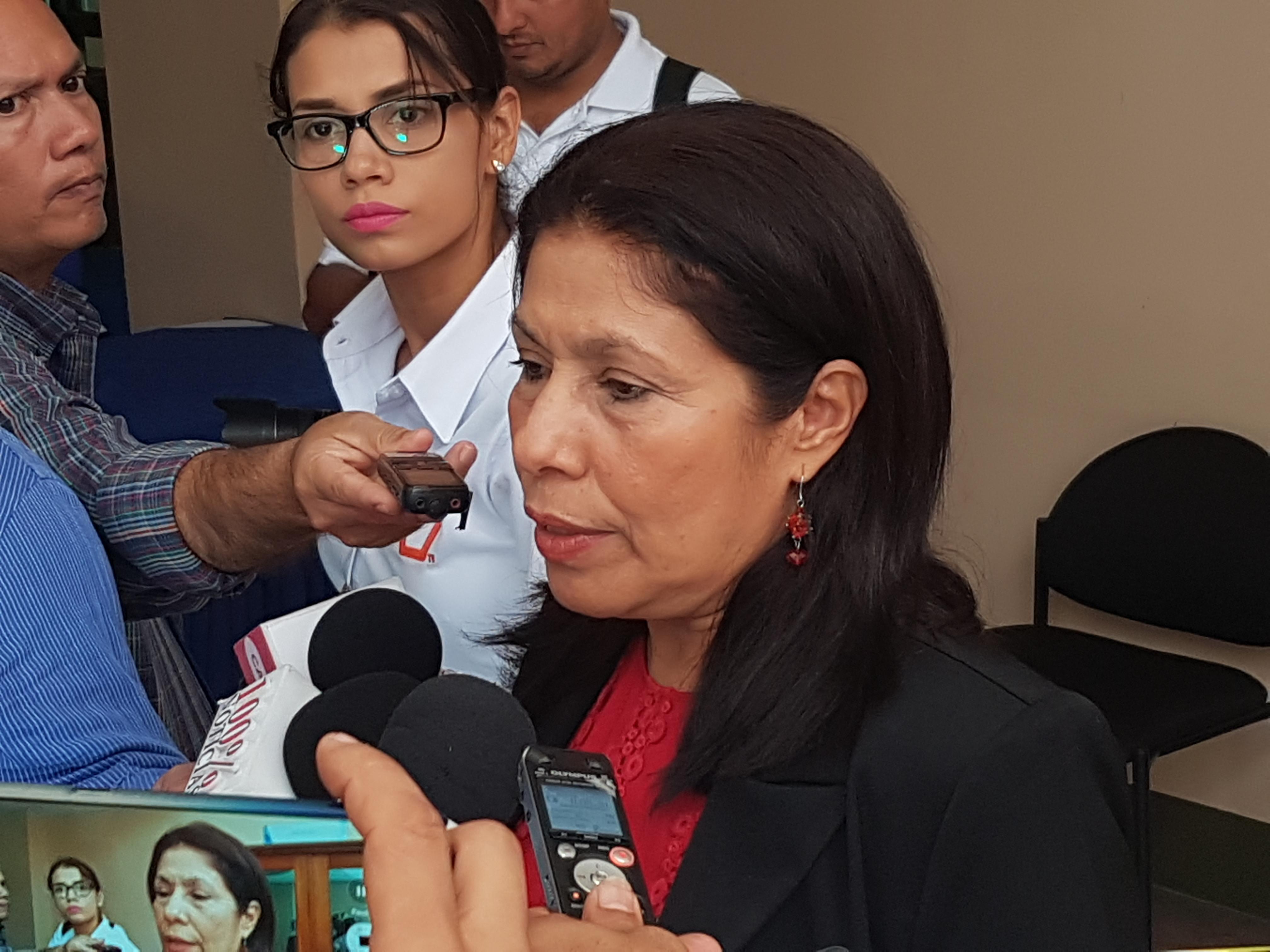 Diputada María Auxiliadora Martínez, Presidenta de la Comisión de Justicia y Asuntos Jurídicos